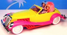 Pinterest Fanatic | Ultimate Fan Club for Recipes and Giveaways: ::: Thursday Twelve - 80's Toys ::: - JEM Rockin Roadster with FM Radio