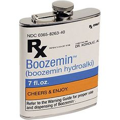 Prescription Flask....for all of my pharmacist friends!