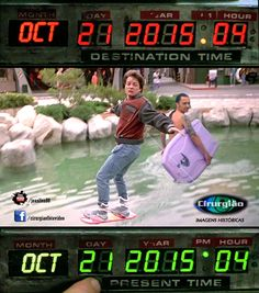 21/10/2015 - De Volta para o Futuro