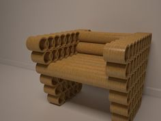 cardboard tube furniture. Linha De Moveis Em Tubo Papelao 2 On Behance Mais. Cardboard TubesCardboard CraftsCardboard Furniture2 Tube Furniture