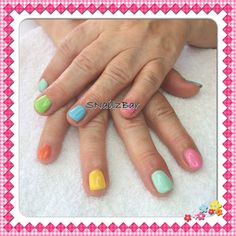 Rewind 2014 nails. Perfect Match candy colours