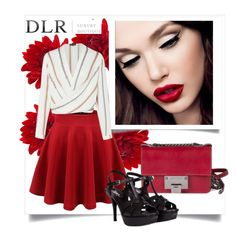 """""""DLRBOUTIQUE.COM"""" by fashionb-784 ❤ liked on Polyvore featuring Jimmy Choo and Yves Saint Laurent"""