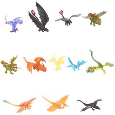 """DreamWorks How To Train Your Dragon 2 Battle Dragon 12 Pack - Spin Master - Toys """"R"""" Us"""