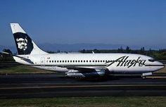 Alaska Airlines B737-2X6C N747AS