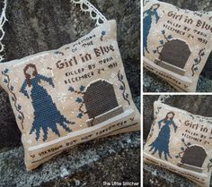 The Little Stitcher: The Girl in Blue