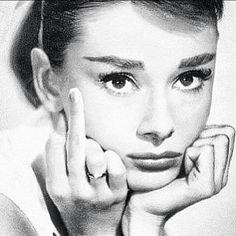 Audrey Hepburn fuck you