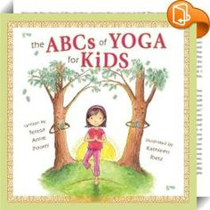 The ABCs of Yoga for Kids Widget where you can see sample pages from the book