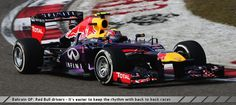 Bahrain GP: Red Bull drivers - It's easier to keep the rhythm with back to back races