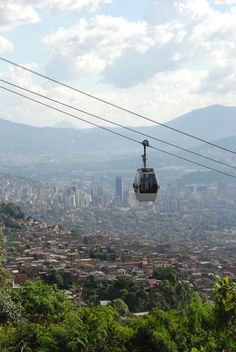 Medellin Metrocable, Columbia