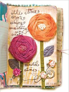 Free Article Download: Inspiring Mixed-Media Journal by Donna Downey