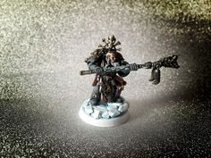 Rune priest conversion - + SPACE WOLVES + - The Bolter and Chainsword Bolter And Chainsword, Thunder And Lightning, Space Wolves, Priest, Runes, Conversation, Beast, Wolf, Carving