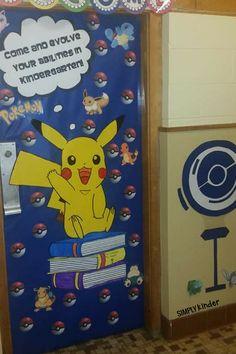 Class Door Decorations, Classroom Decor Themes, Classroom Activities, Classroom Ideas, Library Decorations, Christmas Decorations, Superhero Classroom Door, Christmas Classroom Door, Classroom Banner