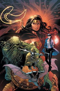 The two new titles, Justice League Dark and Justice League Odyssey, will spin out of DC Comics' No Justice miniseries that kicks off in June. New Justice League, Justice League Comics, Comic Books Art, Comic Art, Book Art, Dr Fate, Dark Comics, Marvel Comics, Marvel Dc