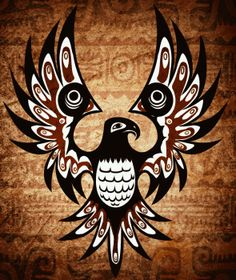 ideas tattoo bird design native american for 2019 Native American Tattoos, Native Tattoos, Native American Symbols, Native American Design, American Indian Art, Indian Tattoos, American Indians, American History, Native American Artwork