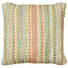 Braided Altair Decorative Cotton Throw Pillow Perfect Floor Pillows Accent