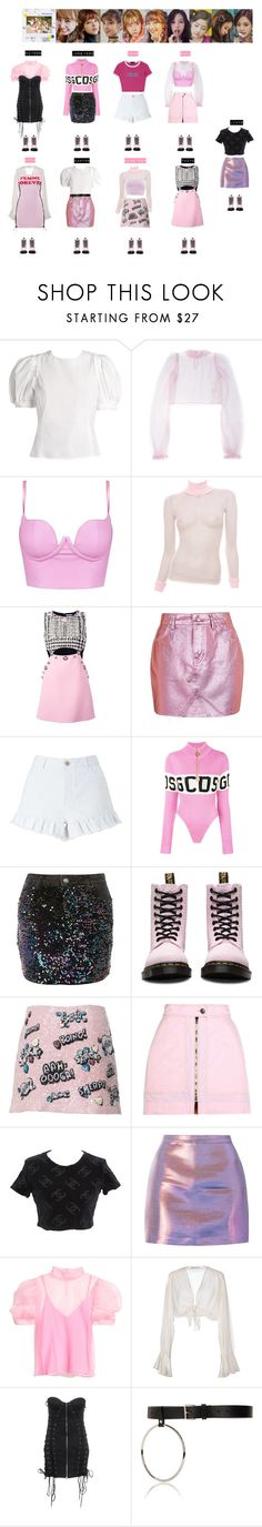 """""""TWICE - LIKEY❤️"""" by vvvan99 ❤ liked on Polyvore featuring Brock Collection, Daizy Shely, FAUSTO PUGLISI, Topshop, Miss Selfridge, GCDS, Dr. Martens, Isabel Marant, Chanel and Mes Demoiselles..."""