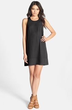 Free shipping and returns on Tildon Racerback Shift Dress at Nordstrom.com. A sweet shift dress is simply detailed with a raised seam along the hemline and a sporty racerback.