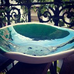 Profitons de nos terrasses avant que parte la chaleur. #céramique #lagrenouilleegaree #bol  #décoration #ceramica #handmade