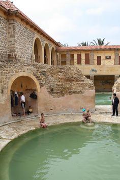Roman Baths - Hammam Essalihine, El Hamma, Khenchela, Algeria