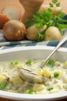 Deftiger Kartoffeleintopf mit Kräutern