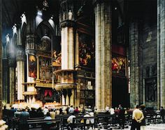 Collection Online | Thomas Struth. Milan Cathedral (Interior) (Mailänder Dom [Innen]). 1998 - Guggenheim Museum