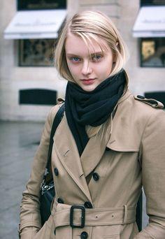 Nastya Kusakina after Roland Mouret Fall/Winter PFW Beautiful Girl Image, Beautiful Eyes, Pretty People, Beautiful People, Nastya Kusakina, Russian Models, Girls Image, Pretty Face, Female Models