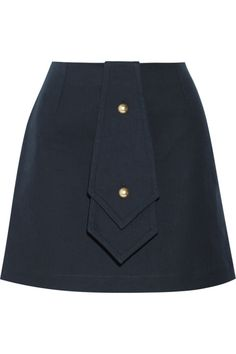 The mini skirt is everywhere this spring! Shop this J.W. Anderson Bonded Cotton-Twill Mini Skirt plus 13 others.
