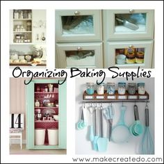 Pantry Organize Part 2 Baking Supplies