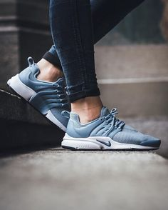 just in. Nike Wmns Air Presto - Blue Grey/Ocean Fog-Black-White available instore and online @titoloshop Zurich | Berne ⬆️ link in bio.