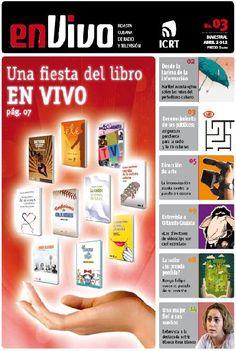 la TV en #Cuba tiene su revista bimensual En vivo, disponible en pdf