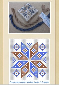 Star from Stitches & Crosses Marijke