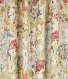 Save 31% on our Cream Hedgerow Contemporary Fabric from Voyage Decoration; perfect for creating Curtains & Blinds.