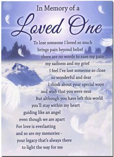 Loss Of A Loved One Quotes And Poems Unique Death Poems For Loved Ones  Death Of A Loved One Quotes Poems