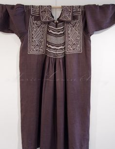Antique smocks at the WI's Denman College - Marielou's posterous via Rarebrede