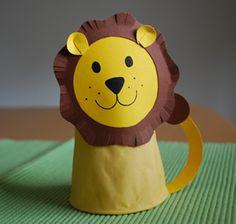 Basteln: Löwe