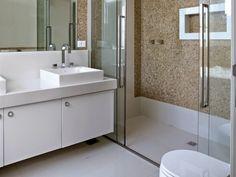 Banheiros com pastilhas - 37 modelos decorados | Decor Alternativa