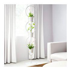 IKEA PS 2012 Halter mit 3 Übertöpfen  - IKEA