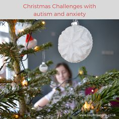Christmas challenges with autism and anxiety - Steph's Two Girls All Things Christmas, Christmas Holidays, Christmas Bulbs, Types Of Autism, Pathological Demand Avoidance, Special Educational Needs, Christmas Challenge, Anxiety, Challenges