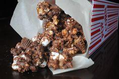 Fluffernutter Caramel Corn | Shugary Sweets