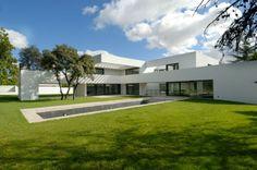 Modern and Luxurious Vivienda La Florida Residence in Madrid