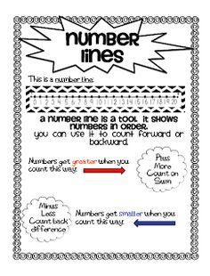 number line freebie