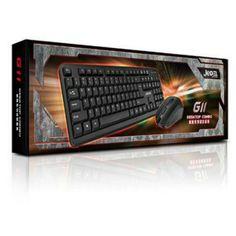 COMBO Phím chuột JEDEL G11 Gaming Chính hãng Hàng chính hãng, chất lượng đảm bảo Bàn phím khắc LASER chống bay chữ, phím bấm cực êm, độ bền cao Chuột độ nhạy cao, chuyên dùng cho game thủ, nút bấm cực bền Giao tiếp USB dùng được cho cả PC, Laptop $$$ 160k Bảo hành 1 năm HOTLINE: 0128 600 5534 (ZALO, VIBER) #gsshop #phimchuotgsshop   gsshopvn.com