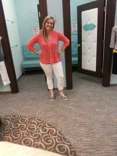 love this new color on jenny <3 it looks great with the white capris!