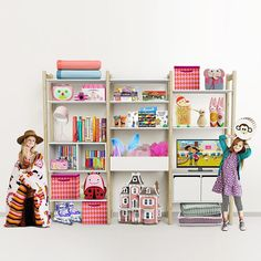 Flexa Storage Shelfie Combi 7