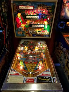 "1977 Prostpector ""Sonic ""Pinball Machine"