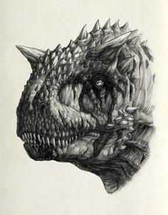 Carnotaurus III by *AntarcticSpring @ deviantART http://antarcticspring.deviantart.com/