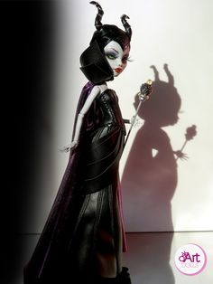 magnificent maleficent - oskart dolls [flickr]