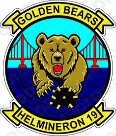 M.C. Graphic Decals - STICKER USN HM 19 Golden Bears, $3.00 (http://www.mcgraphicdecals.com/sticker-usn-hm-19-golden-bears/)