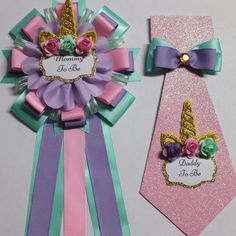 Unicorn Theme baby shower ideas Baby Unicorn Baby Shower Mommy and Daddy to Be Corsage Set Baby Shower Mum, Baby Shower Favors, Baby Shower Parties, Baby Shower Themes, Baby Shower Gifts, Shower Ideas, Baby Showers, Unicorn Baby Shower Decorations, Baby Shower Centerpieces