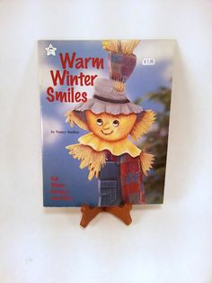 Warm Winter Smiles Tole Painting Book by PhotographyByRoger on Etsy